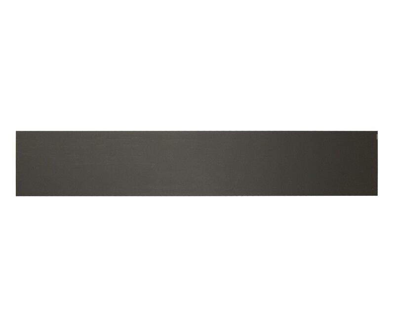 BRASS Accents 6 x 30 in Kick Plate Dark Bronze Aluminum Magnetic Mount
