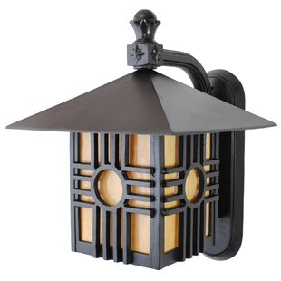 Affordable Price Penfield 1-Light Outdoor Wall Lantern By Alcott Hill