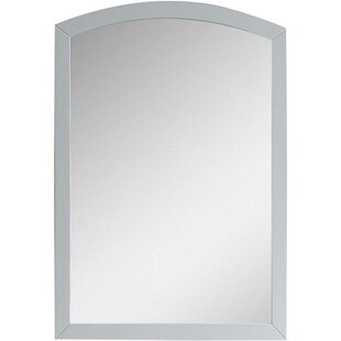 Cataldo Birch Wood-Veneer Wall Mirror with Nylon Seal by Royal Purple Bath Kitchen