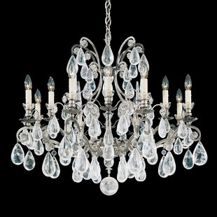Versailles 12-Light Chandelier by Schonbek