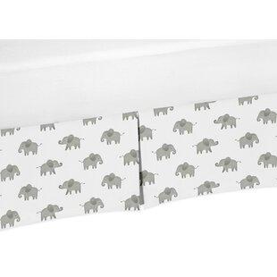 Elephant Crib Skirt BySweet Jojo Designs