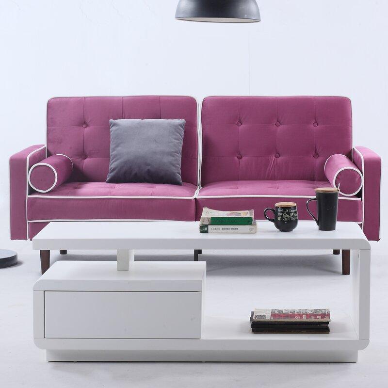 Merveilleux Mid Century Modern Convertible Sofa