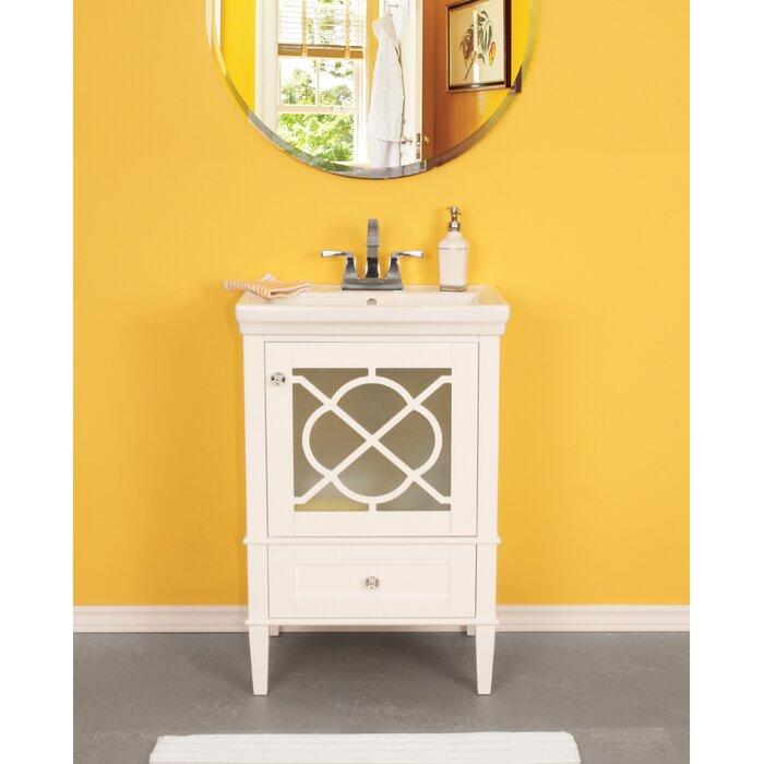Wheatley 24 Single Bathroom Vanity Set
