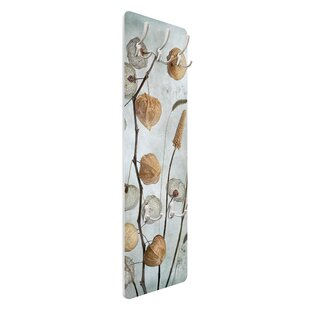 Lantern Fruits In Autumn Wall Mounted Coat Rack By Symple Stuff
