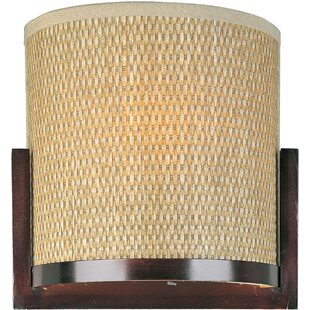 Affordable Price Denning 1-Light Wall Sconce By Bayou Breeze