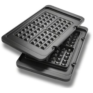 Livenza Waffle Plates for Electric All-Day Grill