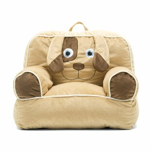 Big Joe Kid's Bagimal Throne Bean Bag Chair