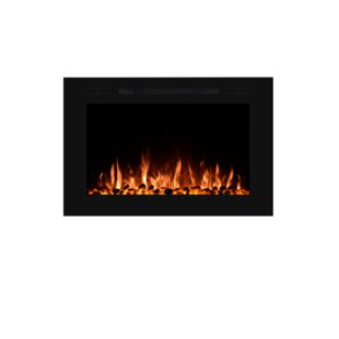 Forte Wall Mounted Electric Fireplace by Touchstone