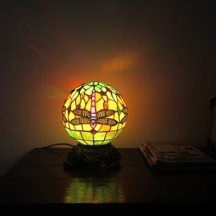 Acushnet Tiffany 1 Light Dragonfly 11 Table Lamp