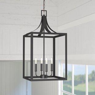 Sherri-Ann 60W 4-Light Foyer Pendant
