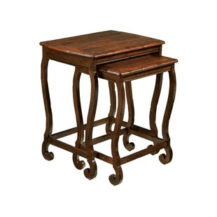 Stewart 2 Piece Nesting Tables by Astoria Grand Cheap