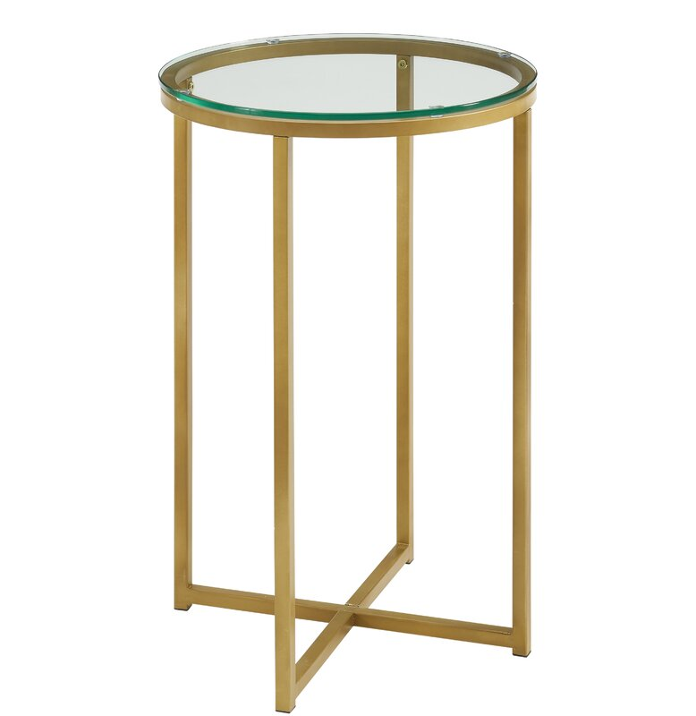 round side table. Angeles Round Side Table R