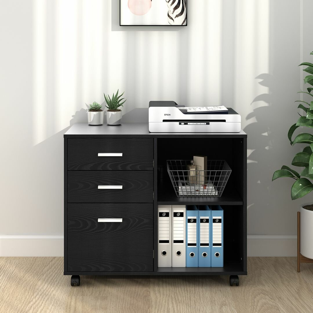 Black Ebern Designs Filing Cabinets You Ll Love In 2021 Wayfair