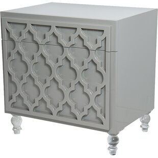 Tangier End Table with Storage by ModShop