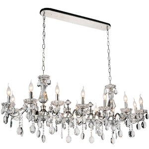Combs 14-Light Crystal Pendant