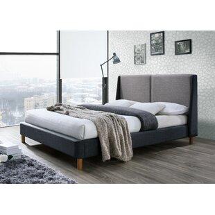 Oliver Queen Upholstered Platform Bed by Omax Decor