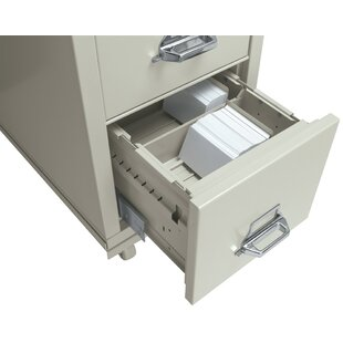 Legal Size Vertical and Lateral File Cross Tray for 4 H x 10 W Checks by FireKing