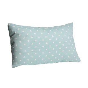 Triangle Cotton Lumbar Pillow