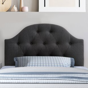 Messerly Upholstered Panel Headboard by Charlton Home