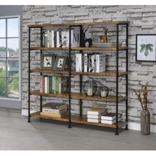 Cifuentes Dual Etagere Bookcase Williston Forge
