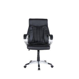 Orren Ellis Leo Minor Traditional Office Chair