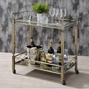 Moore's Crossing Historic Bar Cart