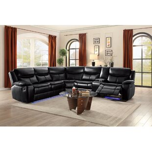 Inexpensive Mirabel Reclining Sectional by Red Barrel Studio Reviews (2019) & Buyer's Guide