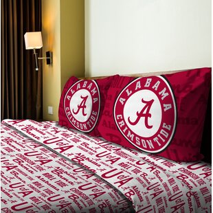 Northwest Co. NCAA Microfiber Sheet Set