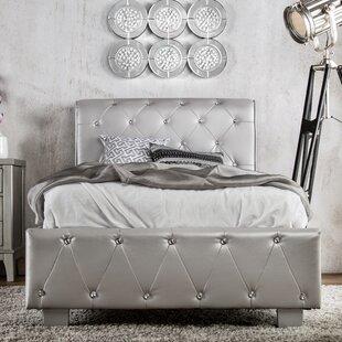 House of Hampton Vivianne Upholstered Sleigh Bed