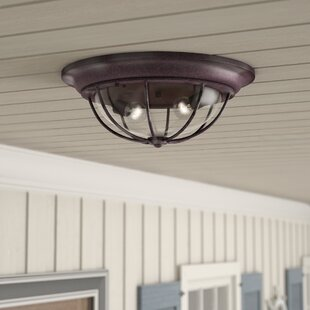 Carina 2-Light Outdoor Flush Mount
