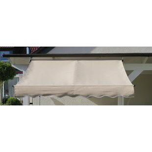 Review Holliman 2m W X 1.5m D Retractable Patio Awning