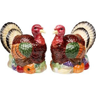 Turkey Salt and Pepper Set By Cosmos Gifts