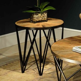 Affordable Flatiron End Table by Reual James