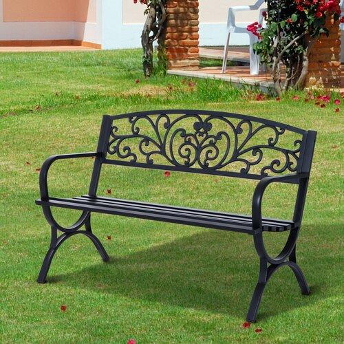 Gartenbank Natalia aus Stahl Garten Living | Garten > Gartenmöbel > Gartenbänke | Garten Living