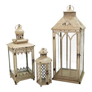 3 Piece Nesting Lantern Set