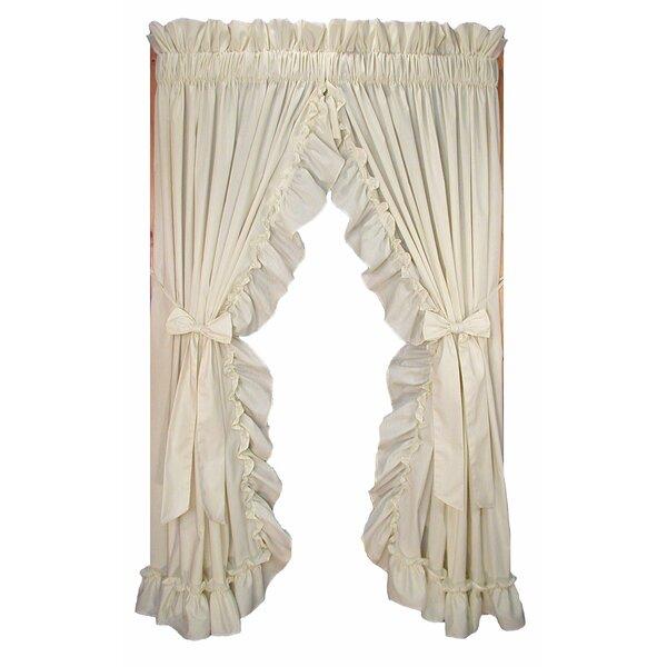 Ruffled Priscilla Curtains Wayfair