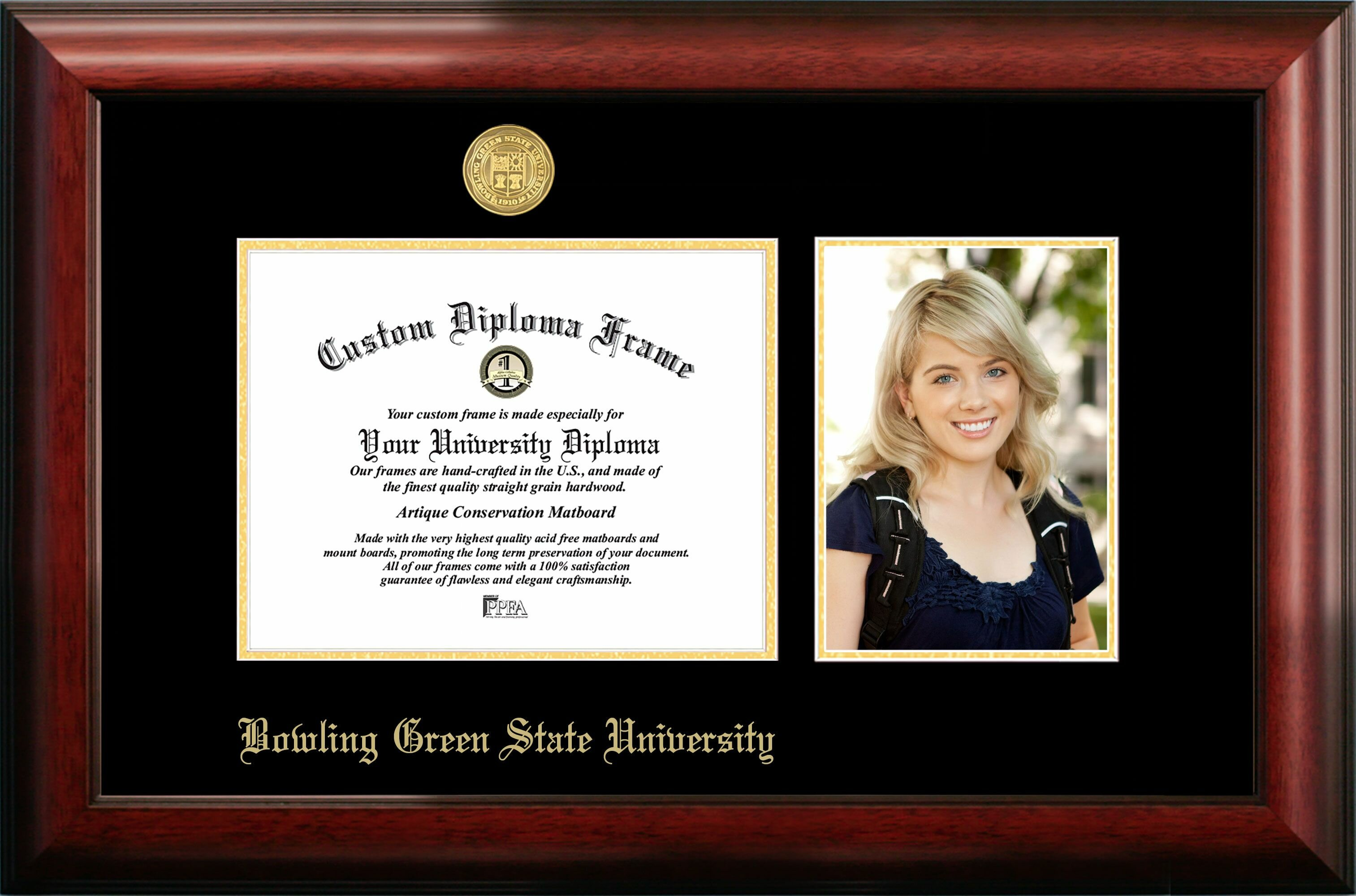 Campus Images Bowling Green State Embossed Diploma Picture Frame Wayfair