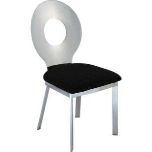 Kesha Metal Dining Chair (Set of 2) by Ev..