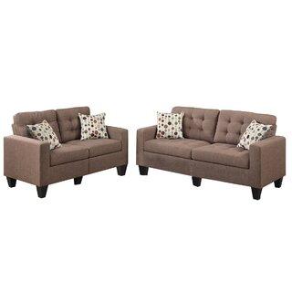 Amia 2 Piece Living Room Set by Zipcode Design SKU:AC665433 Reviews