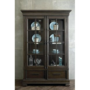 Seamans Lighted China Cabinet by Gracie Oaks
