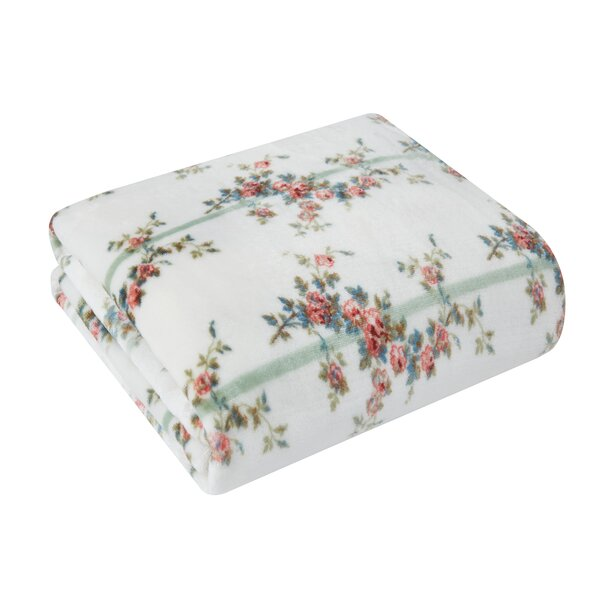 Plush Floral Throw Blanket Wayfair