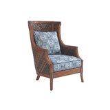 Bali Hai 29.5'' Wide Down Cushion Wingback Chair