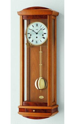 Wall clock AMS Uhrenfabrik Colour: Light Brown