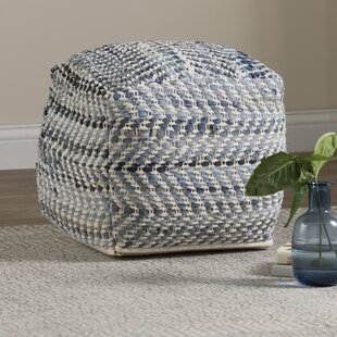 Lubec Pouf by Beachcrest H..
