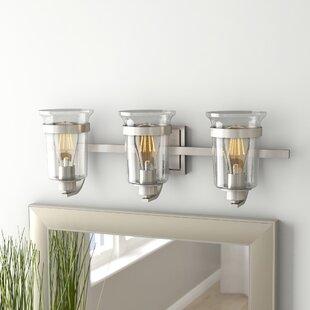 Where buy  Pisek 3-Light Vanity Light ByLaurel Foundry Modern Farmhouse