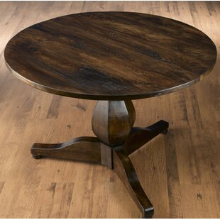 Katelin Solid Wood Dining Table Ophelia & Co.