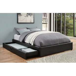 Showman Upholstered Storage Platform Bed