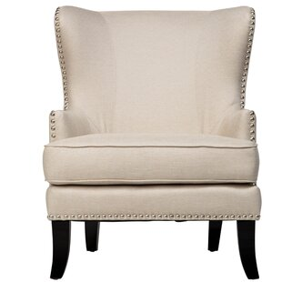 Deals Bessler Wingback Chair by Darby Home Co Reviews (2019) & Buyer's Guide