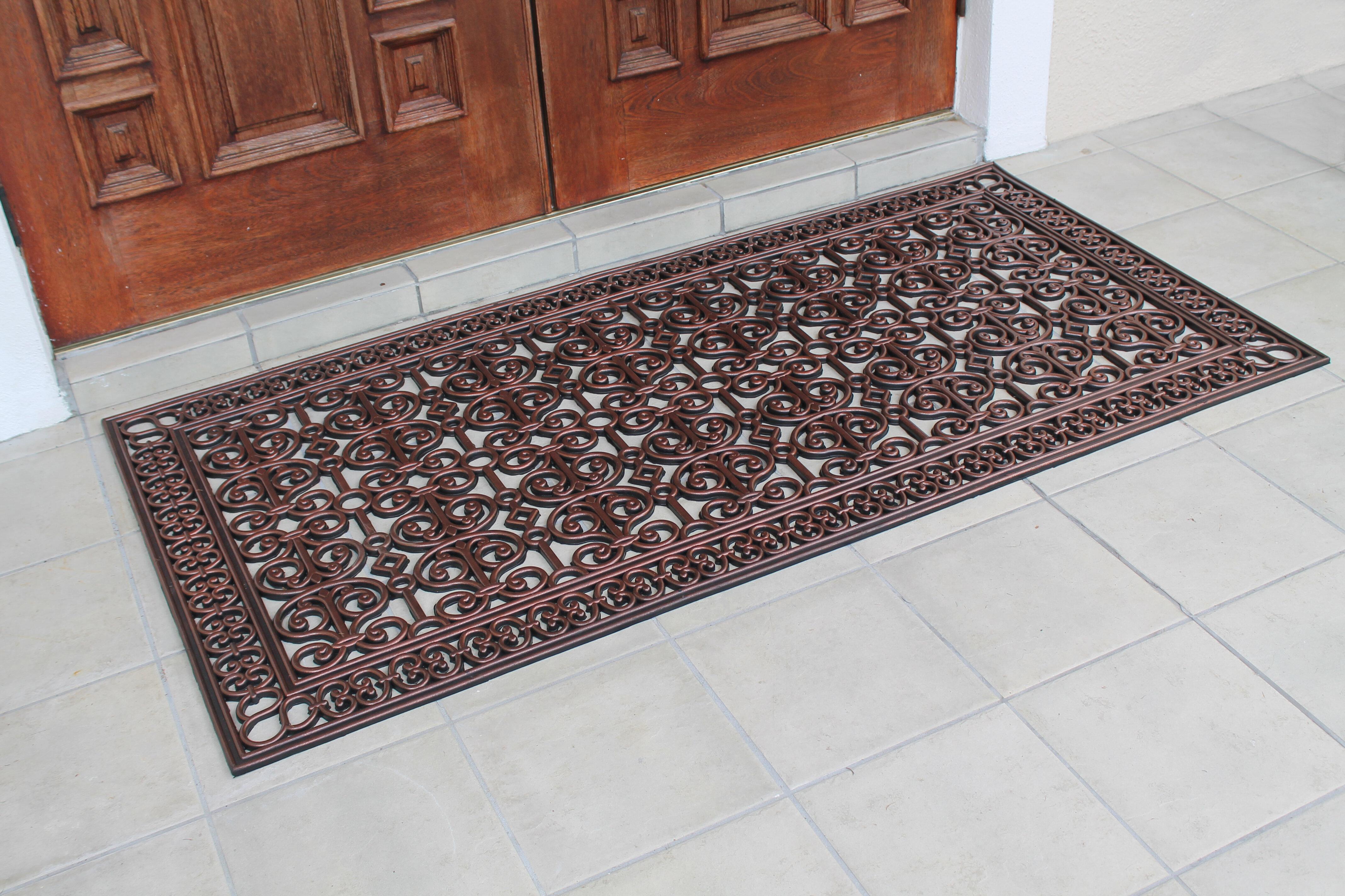 Rugs Carpets Grey Barrier Door Mat