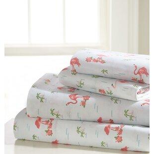 Seamus Flamingo Sheet Set